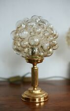 TRUE VINTAGE Tischlampe MESSING Lampe Tischlampe 70s Bubble Tynell 1 von 2 brass