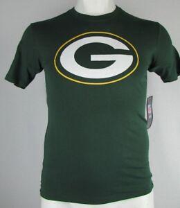 Green Bay Packers Men's 47 Brand NFL Green Printed Logo T-Shirt S M XL 2XL