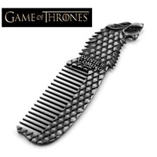 Game of Thrones Stark Metal Comb Winter is Coming Wolf Cosplay collectible Gift