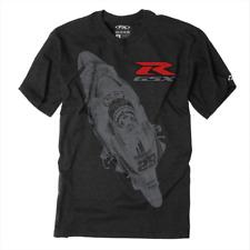 Factory Effex Suzuki Team Gsxr Charcoal Premium T-Shirt Large