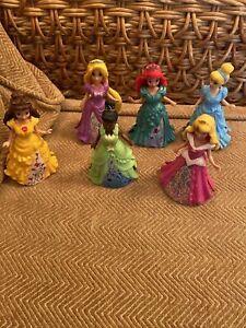 Disney Magiclip Magic Clip Princess Collection Mattel Set Complete