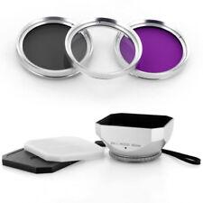 Silver 46mm DV-s Lens Hood,Filter Kit for Panasonic HDC SD900 SD800 TM900 HS900