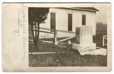 RPPC Postcard Sugar Creek Memorial Cemetery Grave John Andre
