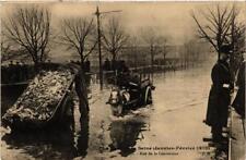 CPA PARIS Rue de la Convention INONDATIONS 1910 (605775)