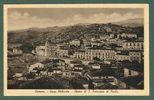 Calabria. COSENZA. Corso Plebiscito. Cartolina d'epoca viaggiata nel 1938.