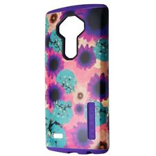 Incipio DualPro Series Dual Layer Case for LG G4 - Purple / Flowers