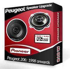 """Peugeot 206 Rear Door Speakers Pioneer 5.25"""" 13cm car speaker kit 210W"""