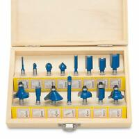 15 PC Tungsten Carbide Router Bit Set | Router Wood Working