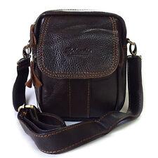 NEW Brown Messenger Shoulder Bag Passport Bag Waist Pack