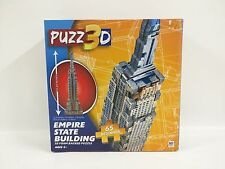 Puzz 3D Empire State Building Beginner Set 65 Pieces New In Box