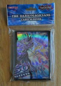 Yu-Gi-Oh! 50 small Card Sleeves Hüllen The Dark Magicians Die dunklen Magier