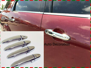 Chrome Handle Cover Fits Ford Territory 2004-2018 Model