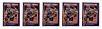(5) 1992 Sports Cards #142 Pat LaFontaine Hockey Card Lot Buffalo Sabres