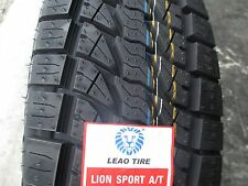 4 New 265/70R17 Lion Sport AT Tires 265 70 17 R17 2657017 AT All Terrain A/T 70R
