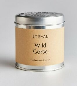 St Eval Wild Gorse Scented Candle in a Tin