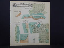 Wisconsin, Walworth County Map, 1930 Pell, Booth, & Potter's Lake M4#05