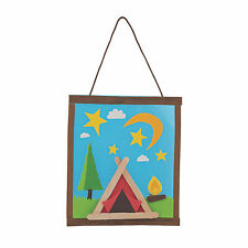 Camp Craft Stick Craft Kit - Craft Kits - 12 Pieces