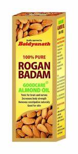 Baidyanath Rogan Badam Oil Strengthens brain power, Nourishes Skin 100ml