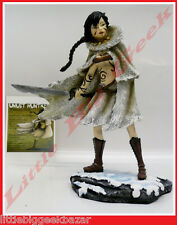 GUERRIERE Inuit Statue Remi Bostal Pin Up Sexy War Girls Resine BD # NEUF #