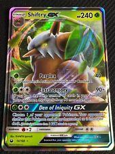 Pokemon : SM CELESTIAL STORM SHIFTRY GX 14/168 ULTRA RARE