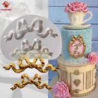 Silicone Bow Fondant Mould Cake Mold Chocolate Baking Sugarcraft Decorating Tool