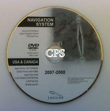 2007 2008 Update 2008 to 2009 Jaguar X S XJ8 XJR Vanden OEM Navigation DVD