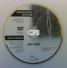 2003 2004 2005 2006 2007 2008 2009 Jaguar X-Type S-Type & R Navigation DVD Disc