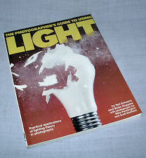 Photographers Guide to Using Light Schwarz lighting theory softcover book