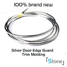 Chrome Silver Hood Edge 10ft x 6mm Moulding Trim Car Decoration Strip Protector