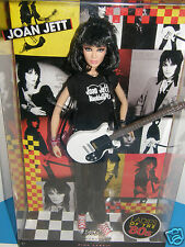 Barbie  Joan Jett & Blackhearts     Ladies of the 80's   2009 mattel collector