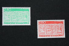 ANDORRE FRANCAIS - timbre Yvert&Tellier n°436-437 n**- stamp andorra (cyn1)