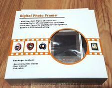 digital photo frame keychain built in 3.7v lithium battary usb cable user manuel