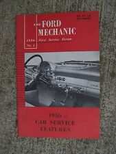 1956 Ford Car Service Features Auto Mechanic Manual LOTS MORE IN OUR STORE  R