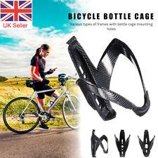 Carbon Fiber Mountain Road Bike Water Bottle Cage Holder Rack Case Mount