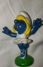 Smurfs Smurfette Ballerina Dancing 20098 Vintage 1978 Toy Figure Schleich