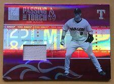 2005 Donruss/Playoff Baseball Hank Blalock Bat Card 050/250