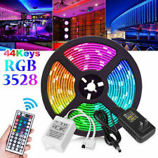 16Ft 3528 RGB waterproof SMD 300 LED Light Strip Flexible Ribbon Tape lamp DC12V