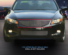 Fits 2008 2009 2010 Honda Accord Coupe Billet Grille Upper Grill Insert Fedar