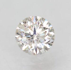 Certified 0.48 Carat F SI1 Round Brilliant Enhanced Natural Diamond 4.81m EX CUT