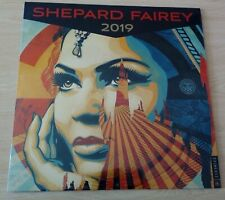 Artist's calendar Shepard Fairey 2019, new, sealed