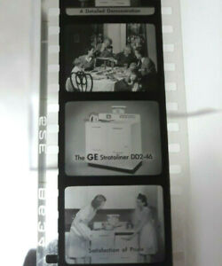 Vintage GE General Electric 35mm Film Rolls How To Sell Products Plus Badges