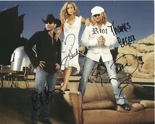 TRICK PONY Autographed Signed Photograph - To Becca