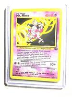 MR. MIME - 22/64 - Jungle - Rare - Pokemon Card - NM