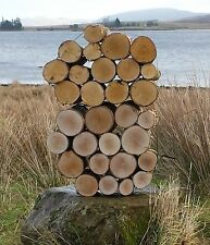Decorative Quality Dry Firewood Display Logs Choose Full Round Half Circle Split 15cm Mixed