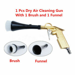 Tornado Car Motorcycle Machine Dry Cleaning Gun Brush Clean Spray Tool(US Stock)