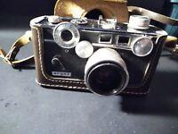 "Vintage Argus C3 Colormatic ""THE BRICK"" 35mm Film Camera Rare Untested"