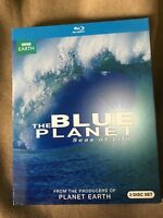 Blue Planet: Seas of Life (Blu-ray Disc, 2013, 3-Disc Set) NEW with Slip Cover