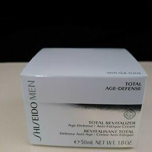 Shiseido Men Total Revitalizer 50ml/1.7oz Men's Skin Care Total Age Defense   M3