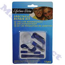 Kit de réparation pour lunettes de soleil lecture branches vis cordon ,oeillets