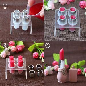 Lipstick Aluminum Ring Mold Lip Balm DIY Mould Make up Tool Kit For 12.1mm Tube